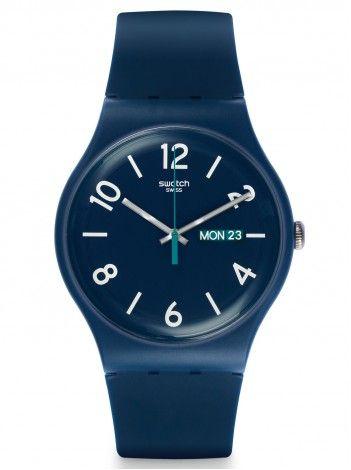 SWATCH Backup Blue http://kloxx.gr/brands/swatch-1/swatch-backup-blue-rubber-strap-suon705