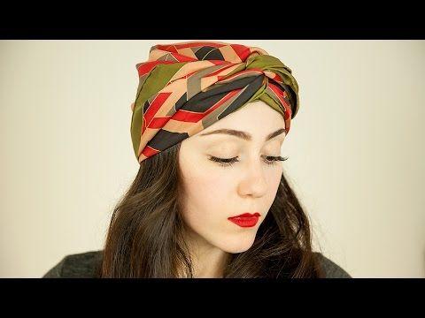 .Frisch gewickelt: Tuch zum stylischen Turban binden > Kleine Zeitung