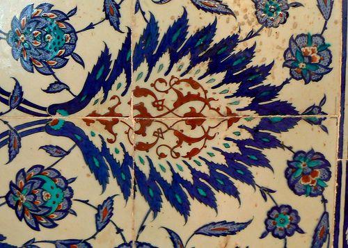 Iznik Tile, Rustem Pasha Mosque, Istanbul