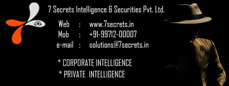 We clearly see that investing in hiring an experienced and reputed private detective can easily save you from ending up in major disasters which can put the reputation of the company in entirety at stake. 7 secrets has a dedicated team of corporate detectives to tackle all corporate related worries.