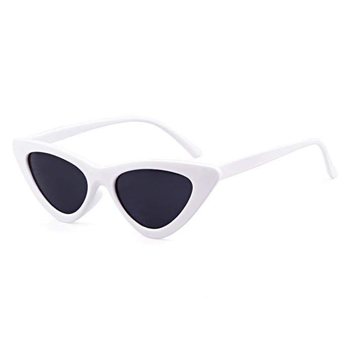 9366cc57c3 Amazon.com  Clout Goggles Cat Eye Sunglasses Vintage Mod Style Retro Kurt  Cobain Sunglasses  Shoes
