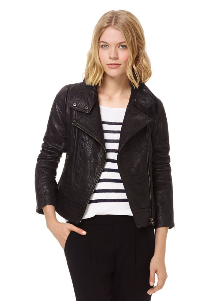 Mackage Kenya Jacket, now available at Aritzia.com. #leather #moto