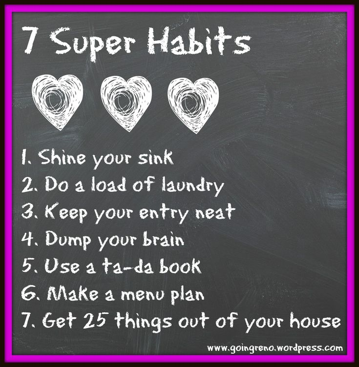 These 7 Super Habits are so simple, but they'll make a huge difference in your life. They only take about 15 minutes, twice a day!