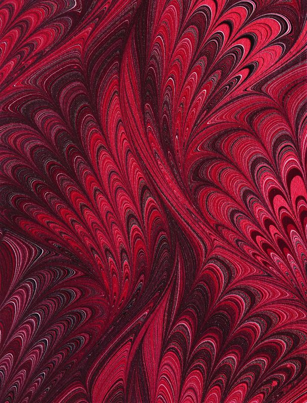 Paper Marbling | Marbled paper by Susan Pogany