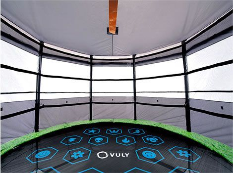 Tr&oline tent. Our tentu0027s panoramic windows provide the best airflow of any tr&oline tent on & 21 best Trampoline tops images on Pinterest | Springboard ...