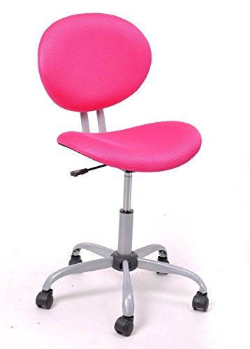 Best price on Mid-back 360 Degree Swivel Student Chair for Girls Home Office Study (Pink) - 16 inch  See details here: http://allfurnitureshop.com/product/mid-back-360-degree-swivel-student-chair-for-girls-home-office-study-pink-16-inch/    Truly the best deal for the reasonably priced Mid-back 360 Degree Swivel Student Chair for Girls Home Office Study (Pink) - 16 inch! Check out at this budget item, read customers' reviews on Mid-back 360 Degree Swivel Student Chair for Girls Home Office…