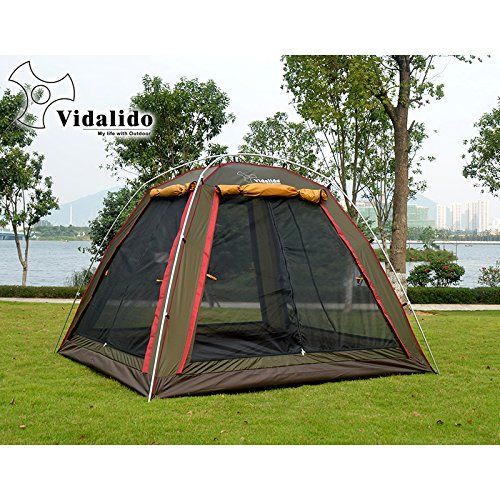 Introducing vidalido 4person family c&ing tents outdoor 3 Season Aluminum. Great product and follow us  sc 1 st  Pinterest & 87 best Camping Tents - 4 Persons images on Pinterest | Tent ...