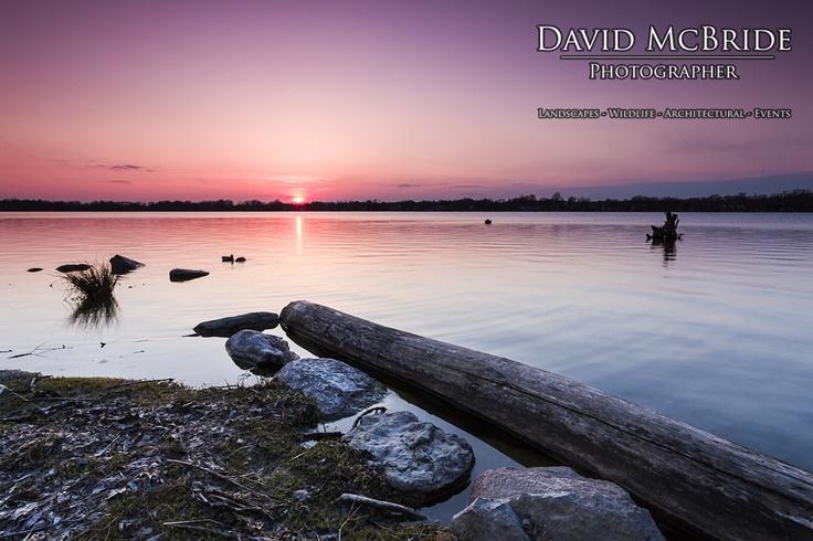 Lake Wilcox Sunset - located in Oak Ridges (Richmond Hill), Ontario