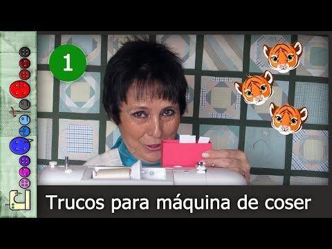 Trucos de máquina de coser. Vídeotutorial | Manualidades
