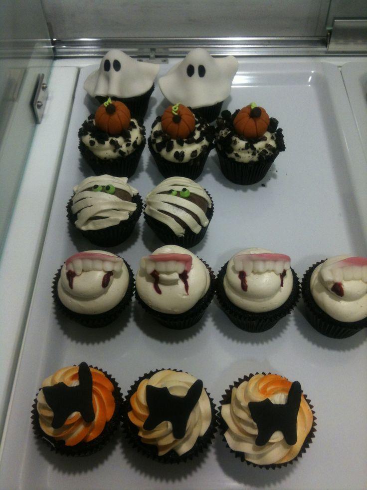 #Halloween #cupcakes!!!