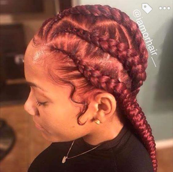 118 Best Plats Amp Braids Images On Pinterest Natural Hair