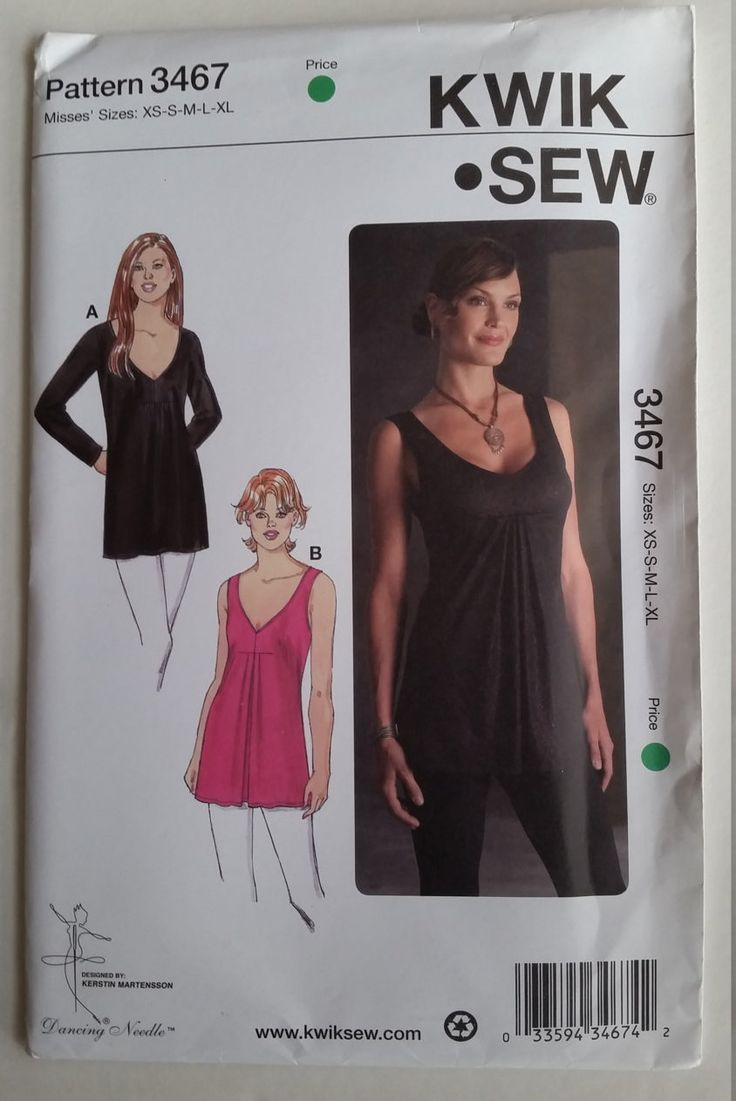 47 besten Kwik Sew Vogue McCalls Simplicity New Look Butterick and ...