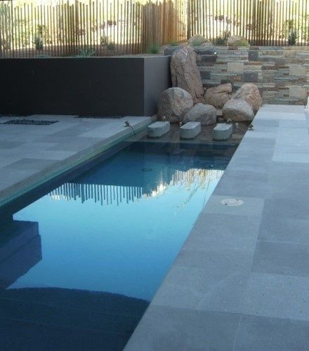 small modern pool the great outdoors