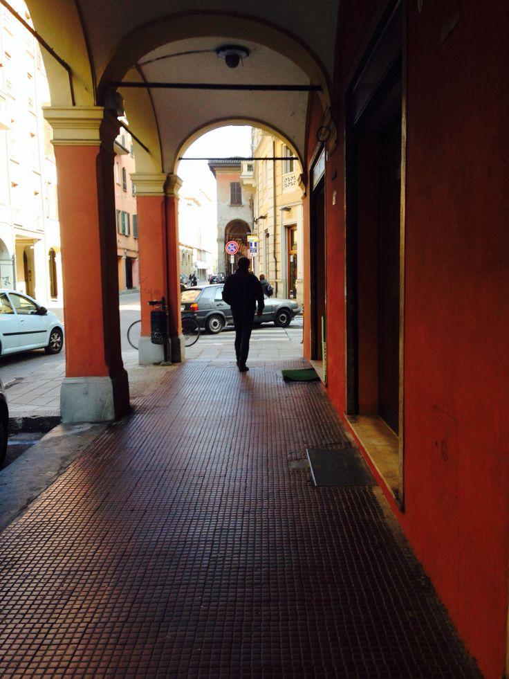 A piedi per bologna