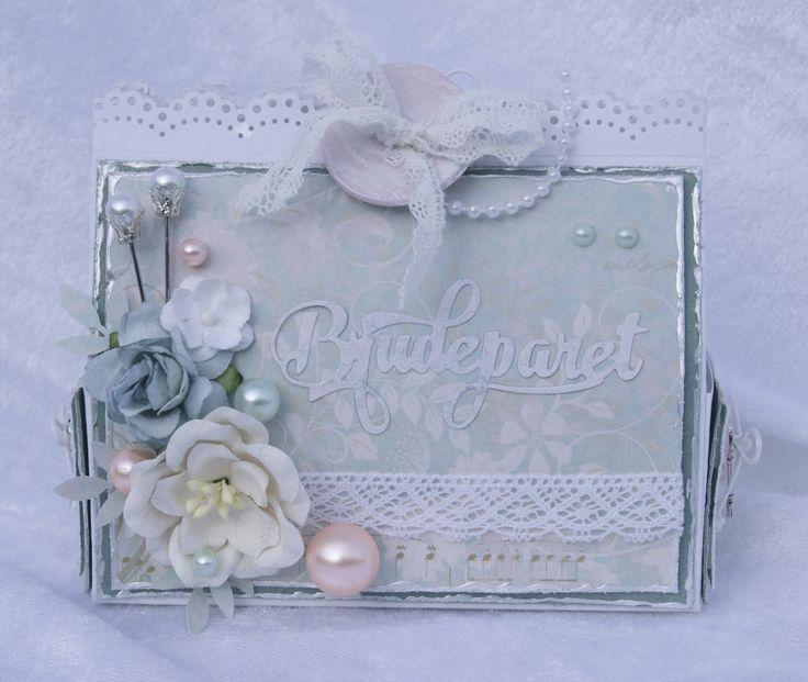 Mitt Lille Papirverksted: Eske til Brudeparret