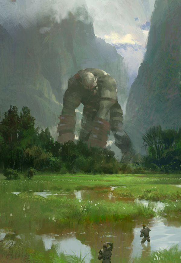 From Halo to Guild Wars, This Concept Art Stays Gorgeous Throughout