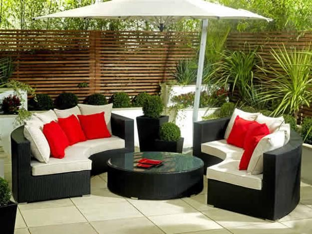 33 best modern roof gardens and lounge patios images on pinterest ... - Patio Furniture Ideas For Small Patios