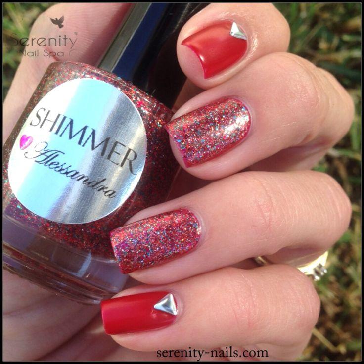 Shimmer Polish Alessandra Serenity Nails Spa