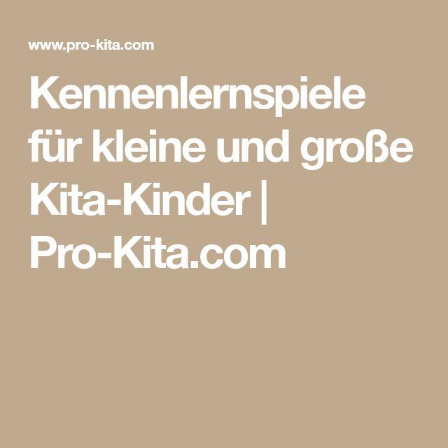 Kennenlernspiele für kleine und große Kita-Kinder | Pro-Kita.com