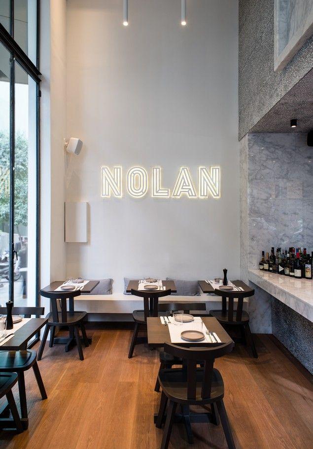 Nolan: Ένα πιάτο που έγινε εστιατόριο, στο κέντρο της πόλης!