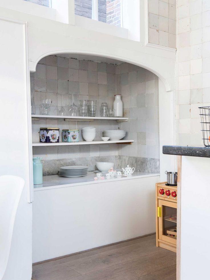 17 beste idee u00ebn over Keuken Wandtegels op Pinterest   Wandtegels, Tegel en Witte tegels