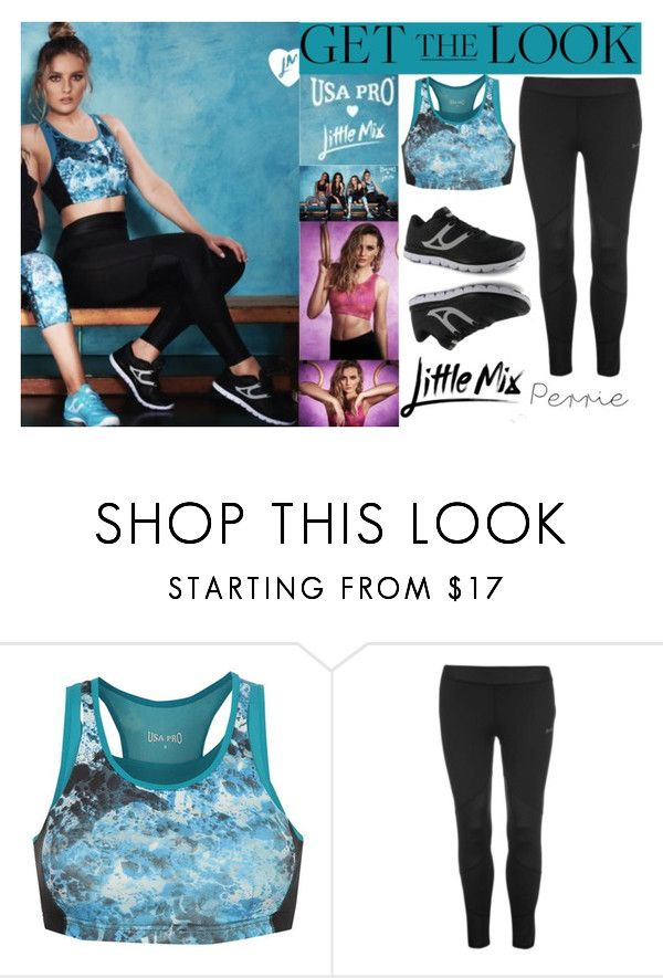 """""""Perrie Edwards Little Mix USA Pro 2016"""" by valenlss ❤ liked on Polyvore featuring USA Pro and CO"""