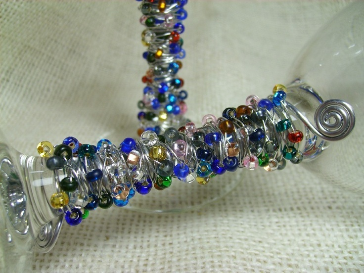 58 Best Images About Beaded Table Ware On Pinterest