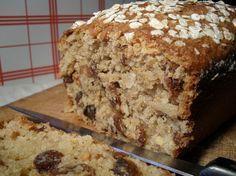 Cake au Son d'Avoine, Amandes et Raisins Secs