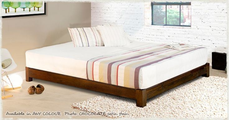 78 best ideas about low beds on pinterest low bed frame floor beds and bedrooms - Low sitting bed frame ...