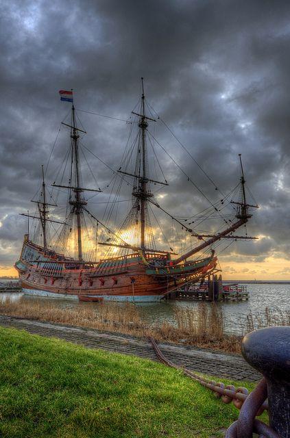 Lelystad; Batavia harbour with the Batavia | Flickr - Photo Sharing!