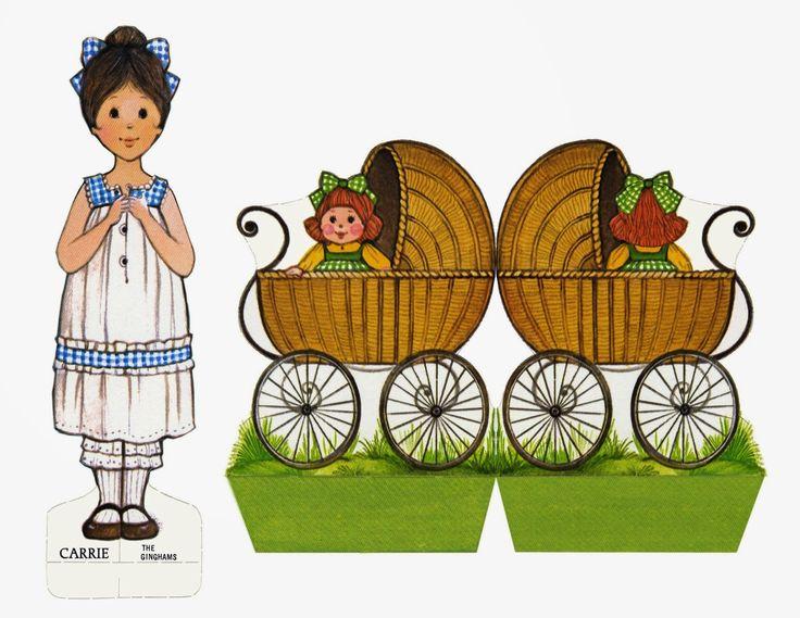 Εκτυπώστε χάρτινες κούκλες και τα αξεσουαρ τους ~ Παιδί και Εργοθεραπεία