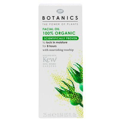 Boots Botanics Organic Facial Oil - 1.0 oz