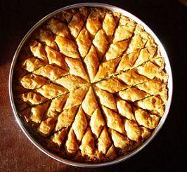 Heerlijk krokant Arabisch gebak