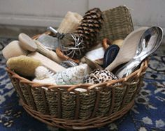 great article about creating treasure baskets for young ones