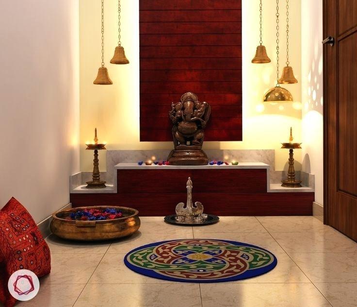 30 Best Temple Mandir Design Ideas In Contemporary House Room