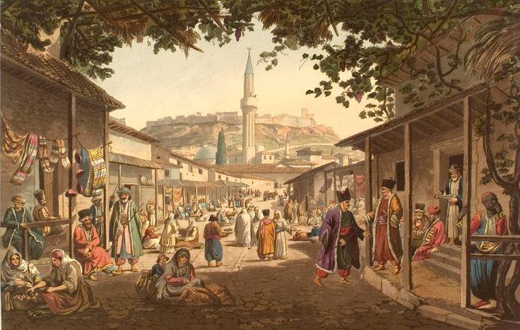 Османская империя на литографиях 18-19 века. - maximus101