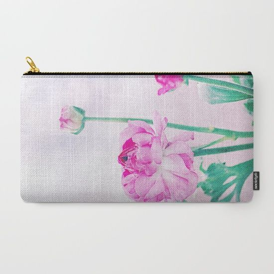 Vintage Ranunculus (7) Carry-All Pouch