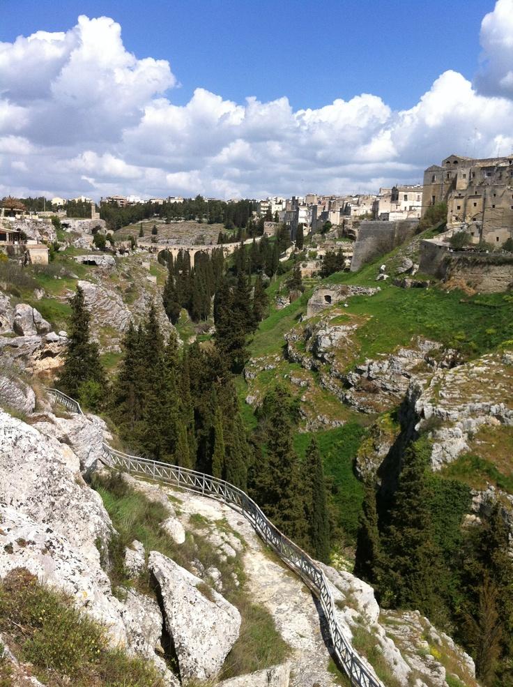 this is Gravina in Puglia