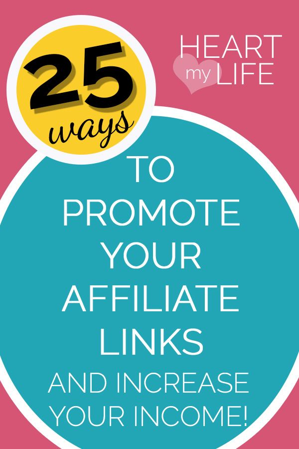 More Than 25 Ways To Market Your Affiliate Links