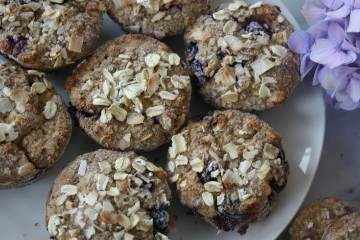 OJ Blueberry Muffins