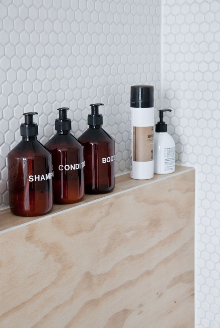 """The rule is: I do not buy ugly stuff anymore. So yes, the pan on the counter also looks nice just like the shampoo bottles in the shower. I buy only things in pretty packages or, if necessary, I put them in a new packaging."" 