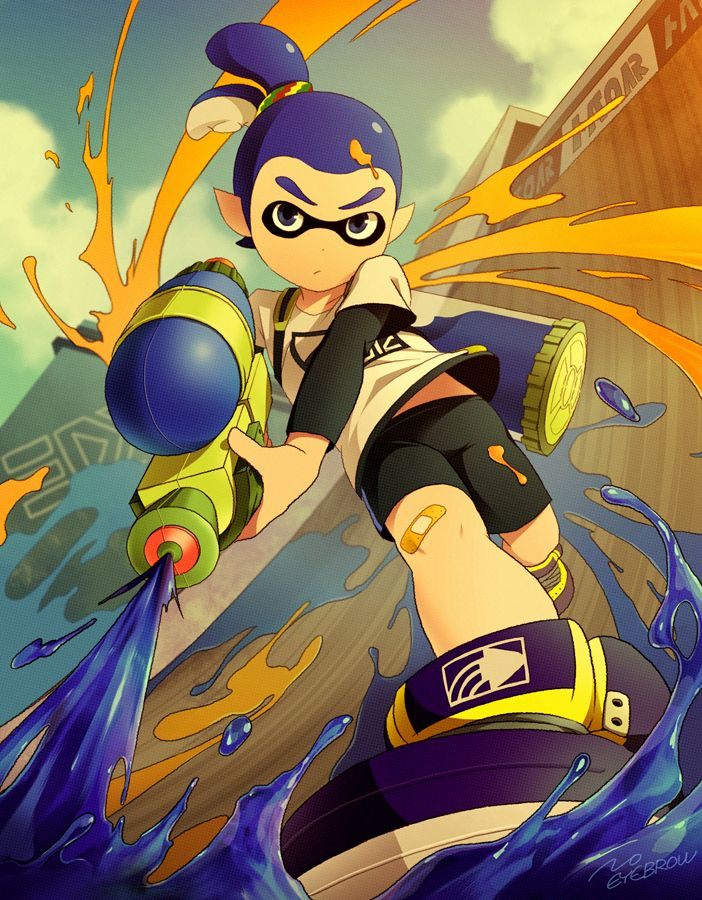 14 Best Splatoon Costume Images On Pinterest