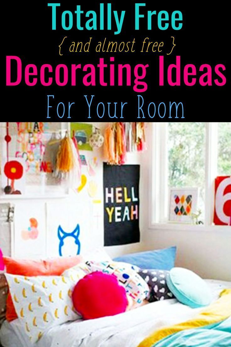 How To Decorate Your Room Without Buying Anything Cheap Home