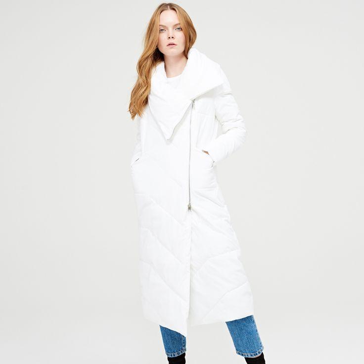 Z2018  Nowoczesny płaszcz z ociepleniem, CROPP