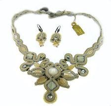 Dori Csengeri Necklace & matching earrings