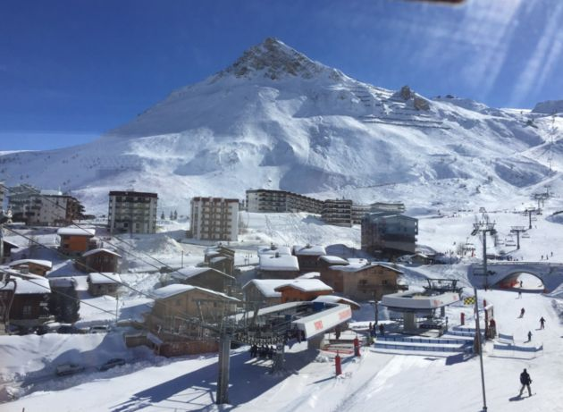 Skiing The French Alps You