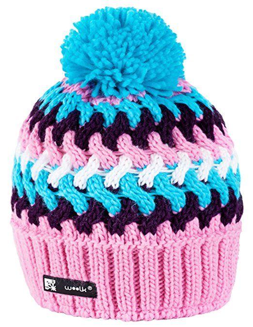 Knitted Wolly Style Beanie Lolly Ponpon Men's Women's Winter Warm SKI Snowboard Hats (Cookie 42) MFAZ Morefaz Ltd