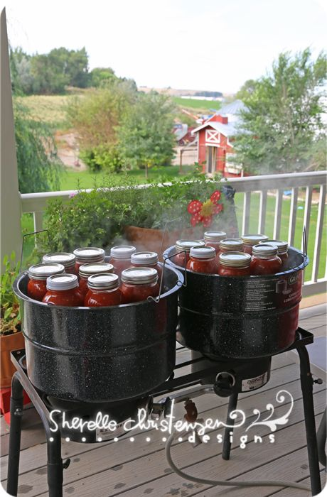 Recipes for Canning Tomatoes: Stewed Tomatoes, Pizza Sauce, Spaghetti Sauce, Salsa - My Crazy Life as a Farmers Wife