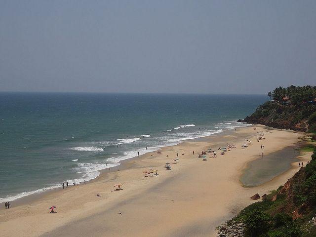 Varkala Papanasam Beach