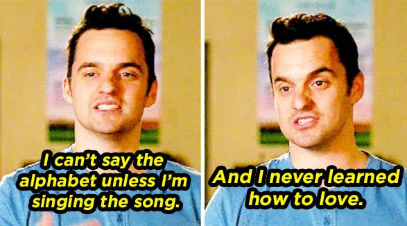 "When he casually listed off his weaknesses: | Community Post: 16 Times Nick Miller From ""New Girl"" Was An Actual Dreamboat"